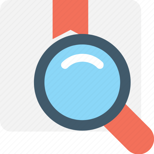 magnifier, package, parcel tracking, search box, shipping icon