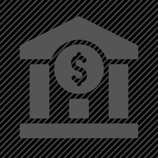 bank, business, dollar, finance, money icon