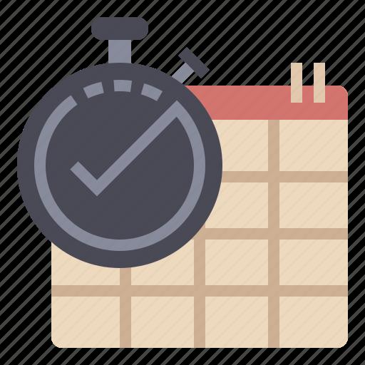 calendar, date, deadline, estimate, progress, schedule, time icon