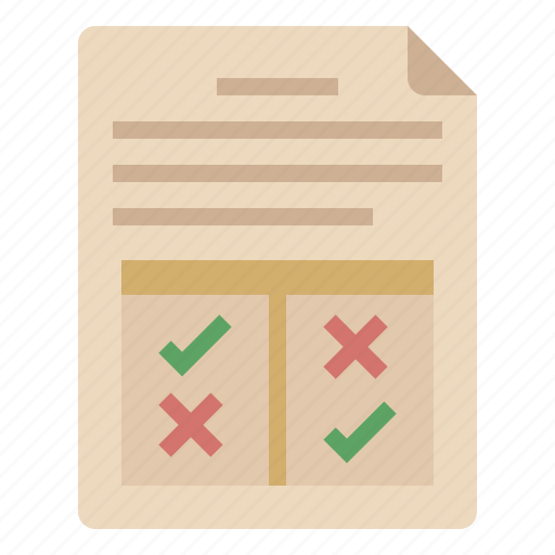 analytics, business resulte, data, document, report, result icon
