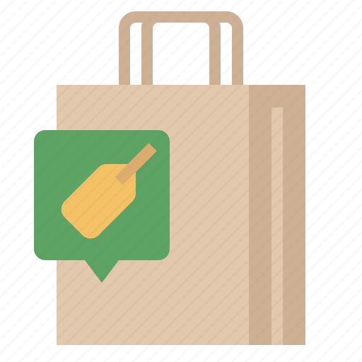 bag, discount, offer, promotion, sale, shopping, shopping bag icon