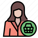 account, business, buy, buyer, client, customer, ecommerce icon