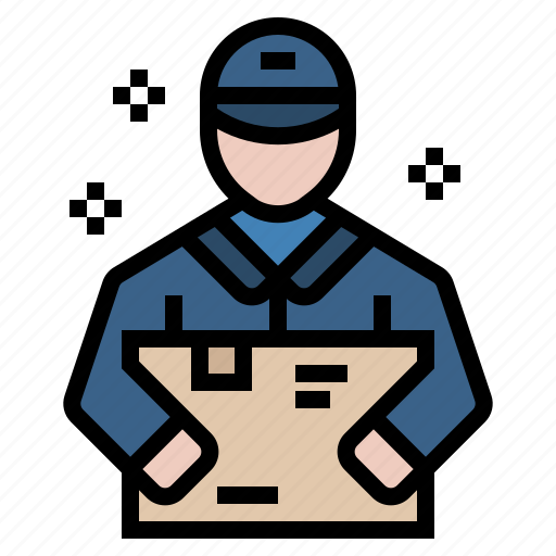 box, cargo, delivery, postman, send, shipment, shipping icon