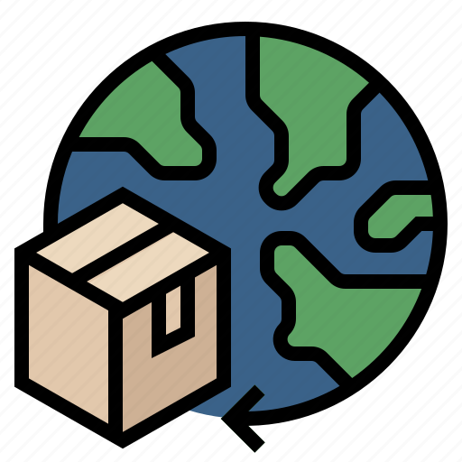 deliverly, distribution, logistic, marketing, product, shipping icon