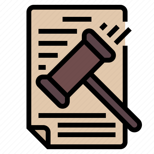business, gavel, justice, law, legal, penalty icon