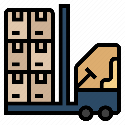 chain, distribution, industry, production, provide, supply chain, warehouse icon