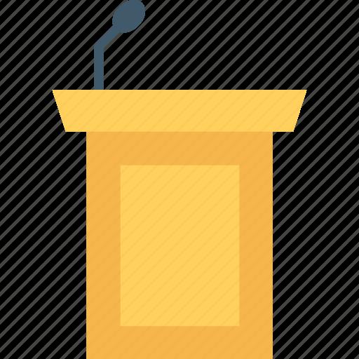 conference, podia, podium, presentation, rostrum icon