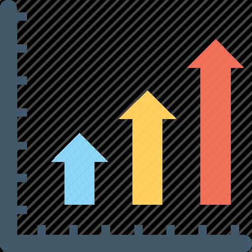 bar chart, bar graph, graph, growth, statistics icon