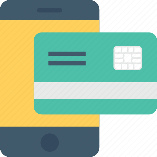 banking, banking app, credit card, m commerce, mobile banking icon