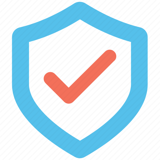 antivirus, firewall enabled, protection, shield, tick icon