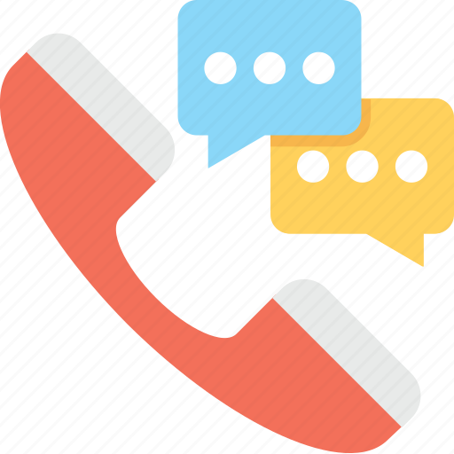 call, communication, receiver, talk, telemarketing icon