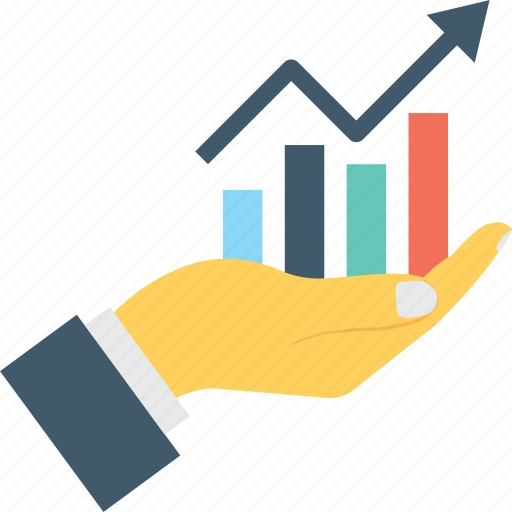 analytics, bar chart, graph, growth, progress icon