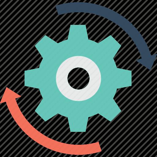 cog, refresh, reset, restore, update icon