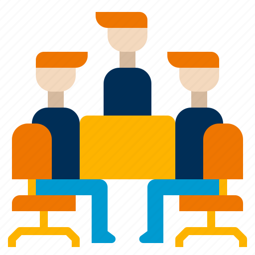 Business, corporate, meeting, office, teamwork icon - Download on Iconfinder