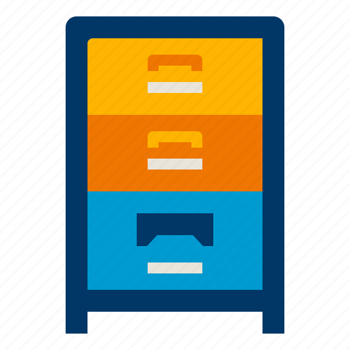 Archive, business, cabinet, file, office, storage icon - Download on Iconfinder