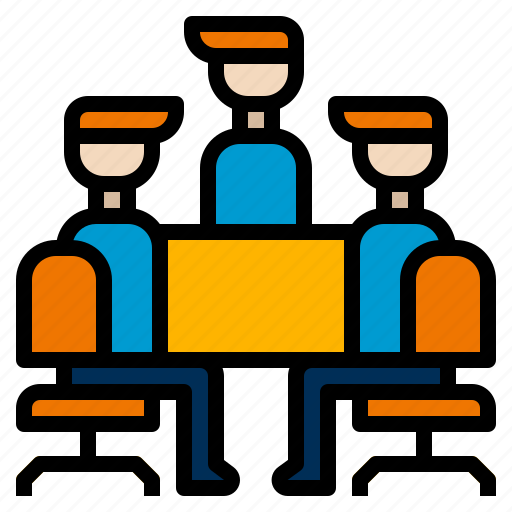 Corporate, meeting, teamwork icon - Download on Iconfinder