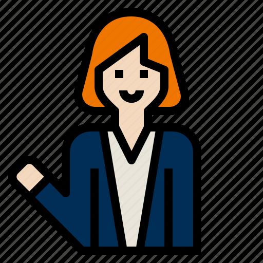Business, businesswomen icon - Download on Iconfinder