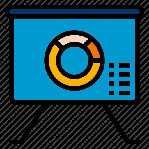 chart, graph, presentation icon