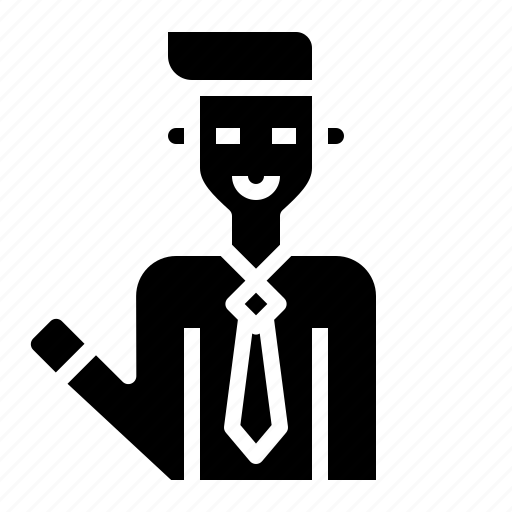 Business, businessman, office, person, professional icon - Download on Iconfinder
