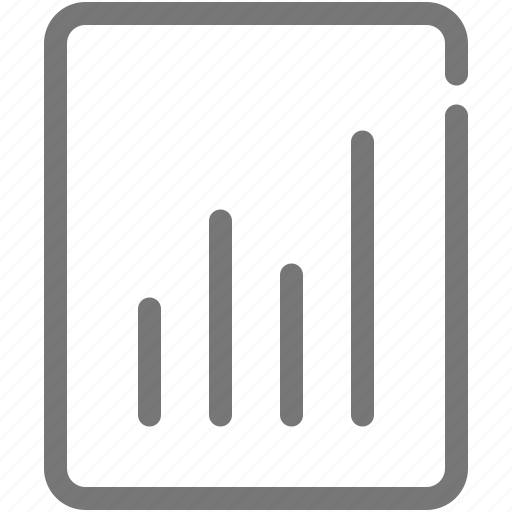 analytics, chart, document, graph, presentation, report, statistics icon