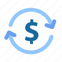 cash, dollar, exchange rate, money, money charger, payment icon