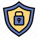 guard, locker, protected, security, technology icon