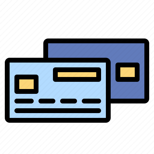 and, bank, business, card, credit, finance, payment icon