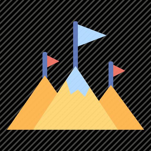 business, development, finance, goal, goals, growth, success icon
