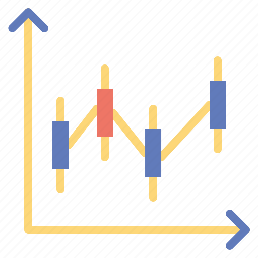 business, chart, graph, line, stats icon