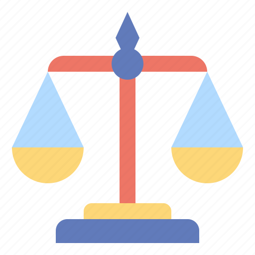 balance, judge, justic, justice, law, scale icon