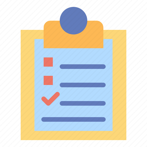check, do, list, listed, tasks, to icon