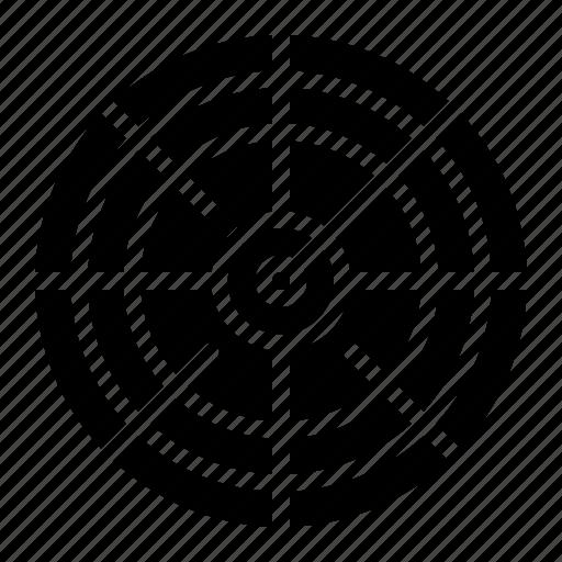 archer, arrow, objective, sport, target, weapon icon