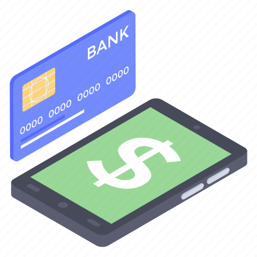 Banking app, e banking, mobile banking, mobile payment, online payment icon - Download on Iconfinder