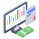 accounting calculations, cost accounting, financial accounting, financial statistics, financial website icon