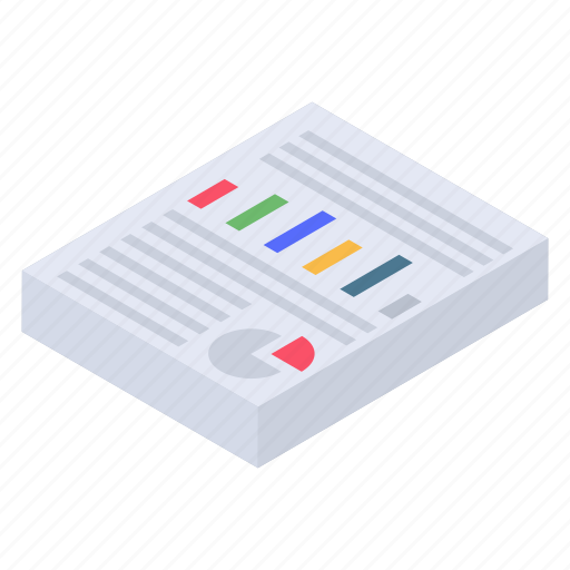 Business report, business statement, financial report, graphical report, survey report icon - Download on Iconfinder