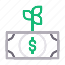 currency, dollar, finance, growth, money