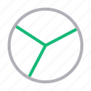 chart, finance, graph, pie, statistics icon