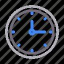 clock, deadline, schedule, time, watch icon