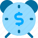 business, clock, manage, money, time icon