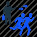 command, incharge, leader, team, teamowrk, working