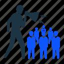 market, marketing, megaphone, people, sales, speaker, user