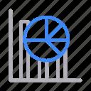 analytic, chart, graph, pie, statistics