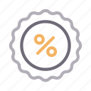 discount, offer, percent, sale, sticker