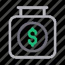 business, dollar, finance, money, saving