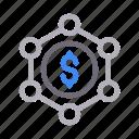business, connection, dollar, finance, money