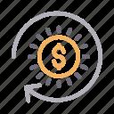 dollar, exchange, finance, money, transfer