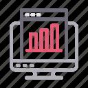 chart, graph, internet, online, webpage