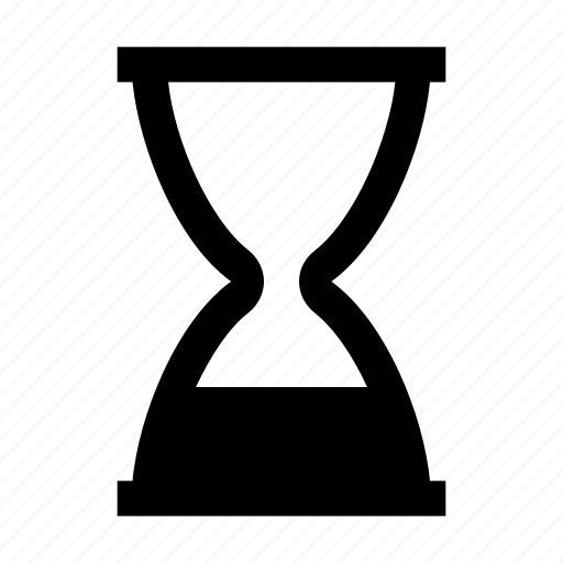 clock, egg timer, hourglass, sand glass, sand timer, time, timer, watch icon