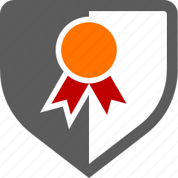 award, badge, branding, certifcate, secure, security icon