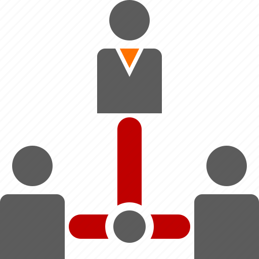 boss, business, clients, employee, manager, meeting, organization icon